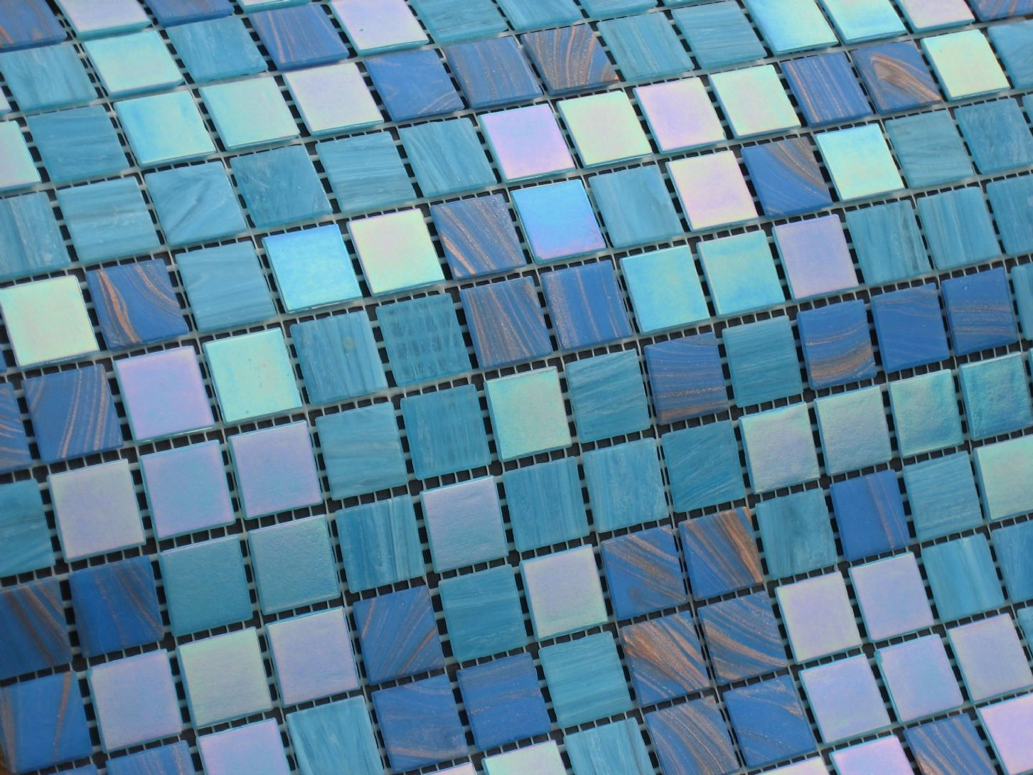 Pool mosaic tiles compass pools for Pool design mosaic tiles
