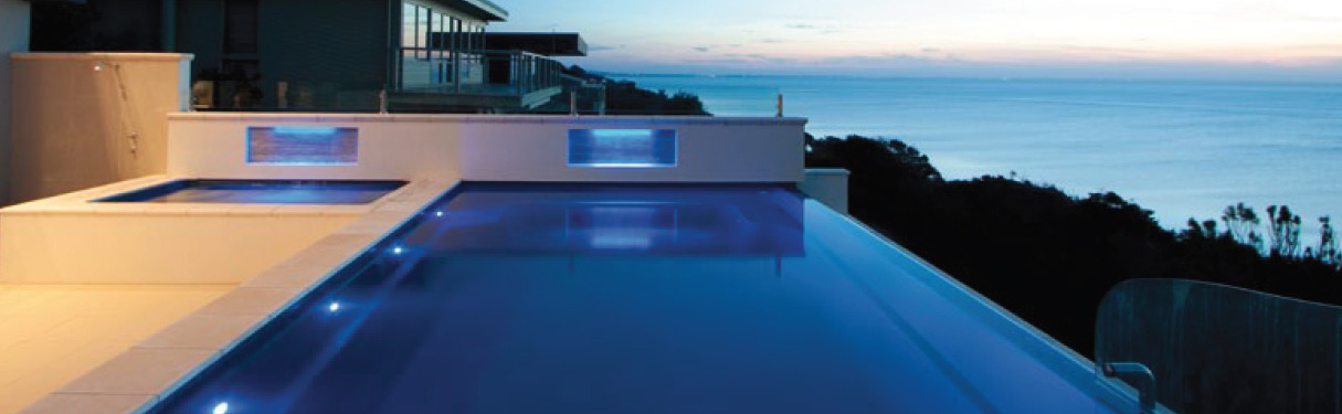 Infinity Swimming Pool Design Oveflow Pool Construction
