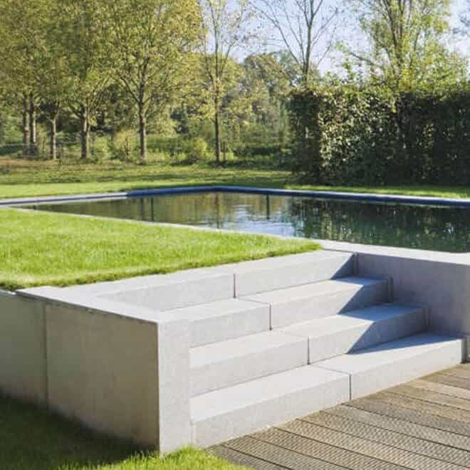 Pool with Steps and Turf