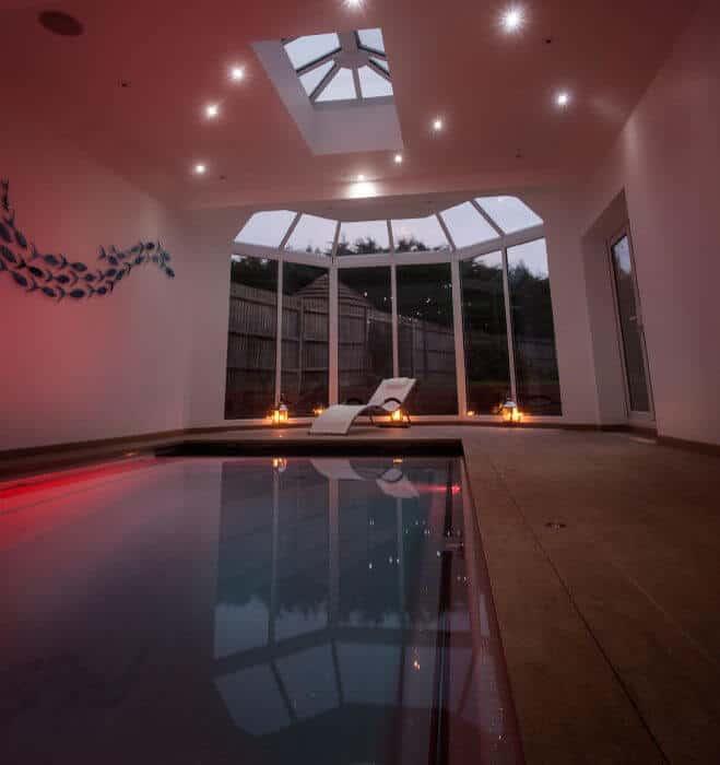 Compass Pools Indoor Pool
