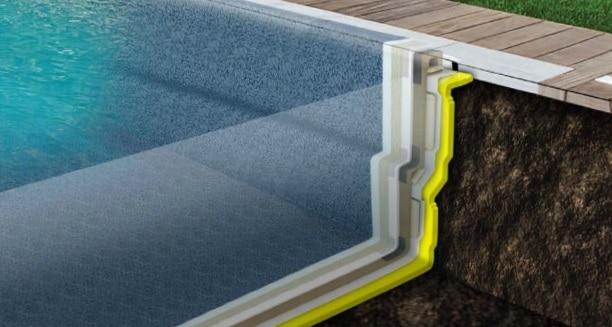 Compass Ceramic Pool Insulation