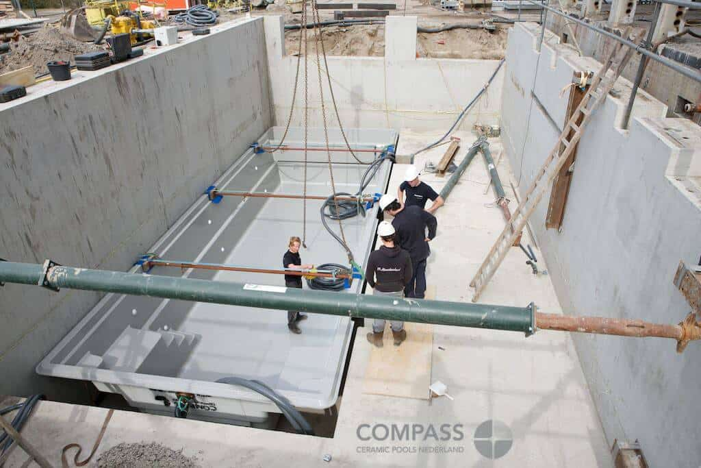 Compass Pool construction