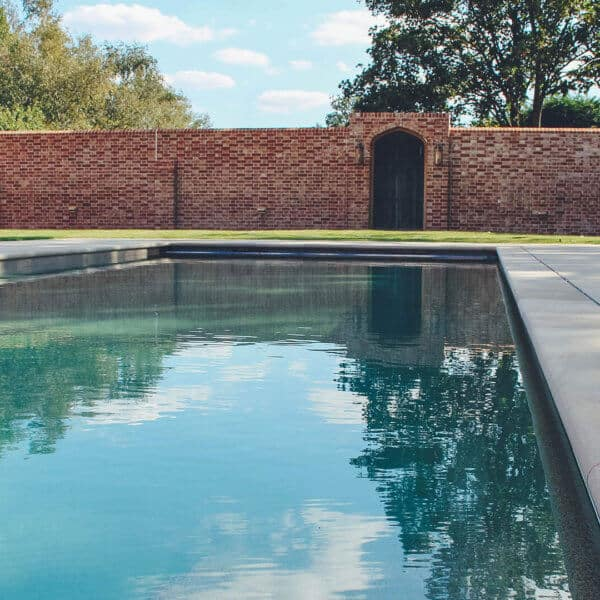 Pool and Garden Wall