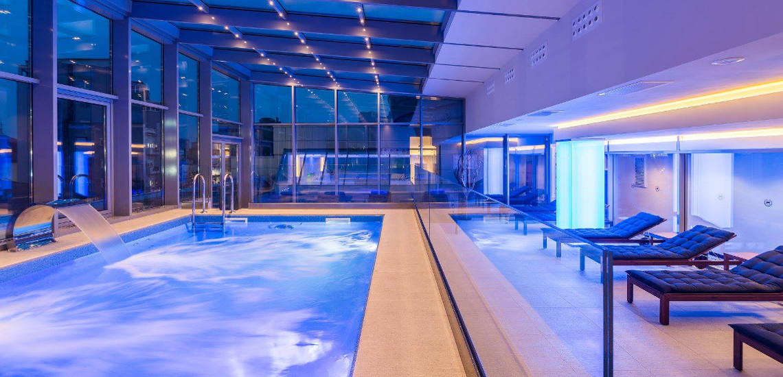 Commercial Pool Installations - Sheraton Bucharest