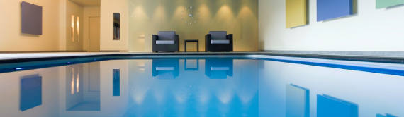 Surface Level View of Indoor Pool