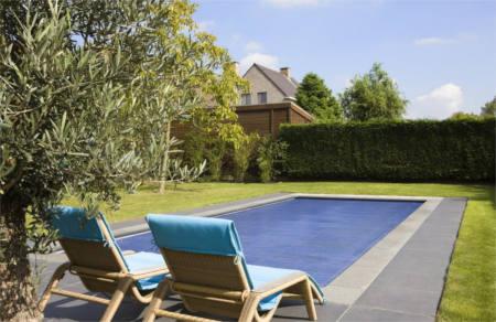 Garden pool image