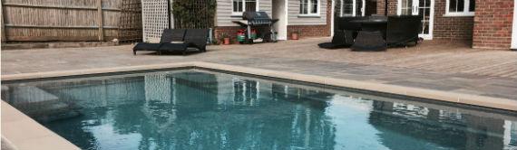 Domestic Pool in Concrete Garden