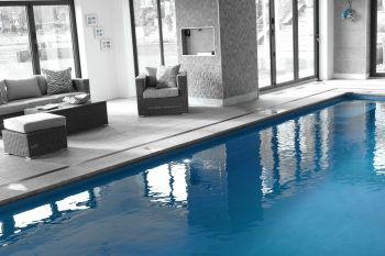 Indoor Pool Monochrome Surroundings