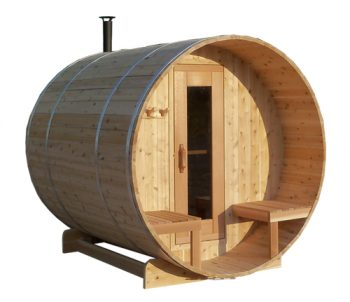 Barrel Sauna for Plunge Pool