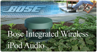 Bose integrated wireless iPod audio  style=