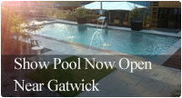 Show Pool Now Open Near Gatwick