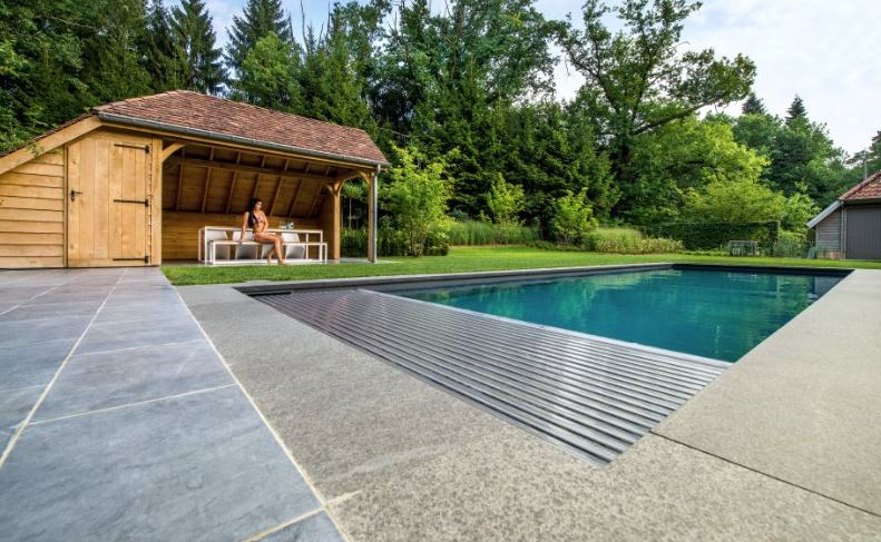 Slatted Covers Are Interlocking PVC Or Polycarbonate Which Can Be Installed  In The Pool Underwater, Or On An Above Ground Roller. They Float On The  Surface ...