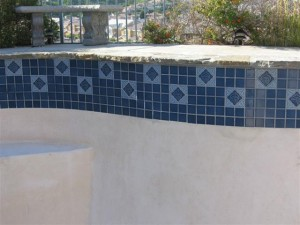 Concrete Pool with Tiles
