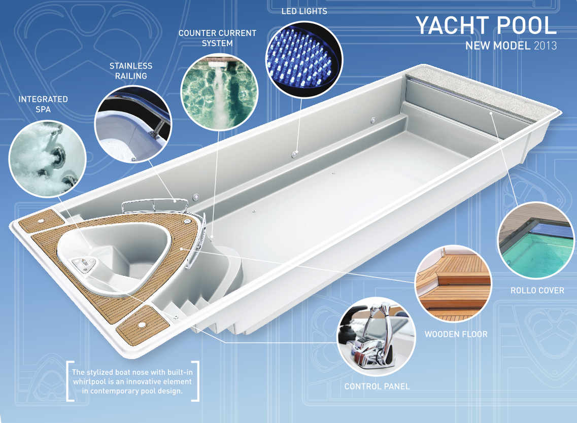 Brand New Yacht Pool
